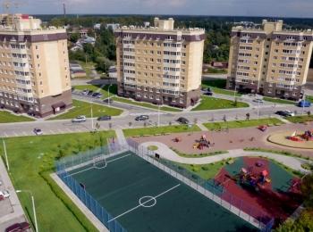 Новостройка ЖК на ул. Микрорайон23